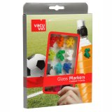Vacu Vin Glas-Marker Football Friends